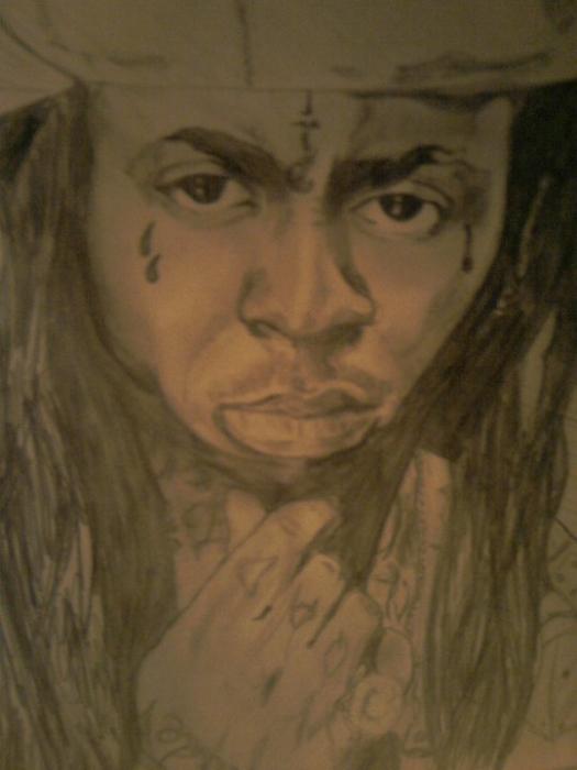 Lil Wayne by Meudin